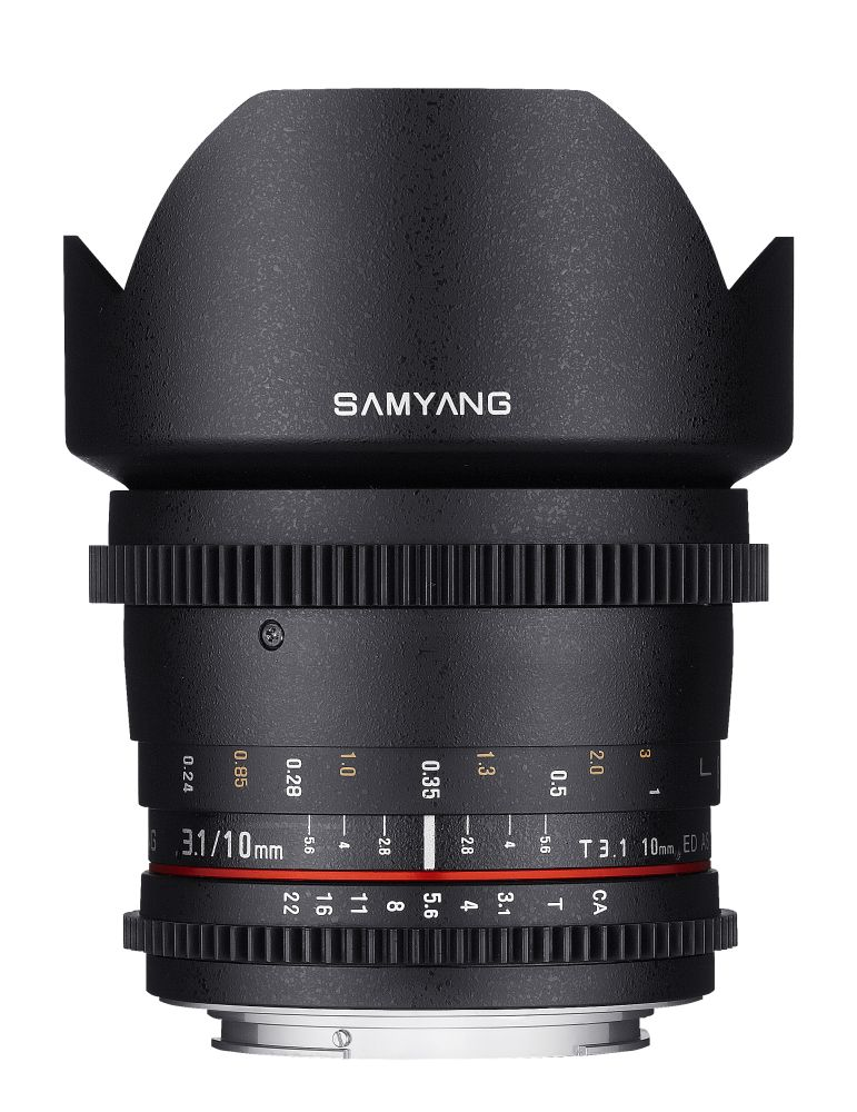Samyang 10mm T3.1 Cine 1 front - 10mm T3_1000px